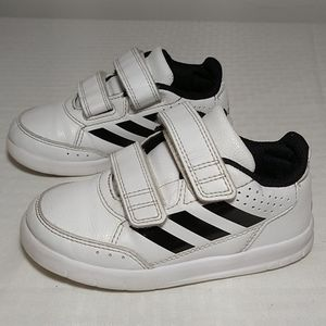 Adidas classis toddler sneakers shoes white black